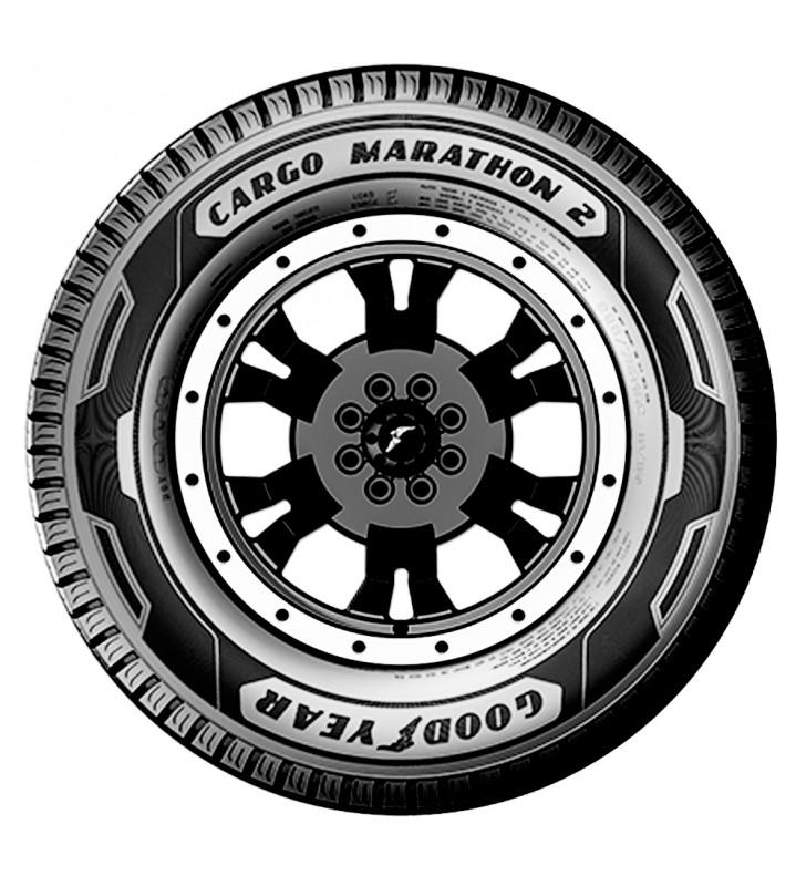 Llanta 195/R15 GOODYEAR CARGO MARATHON 2 106Q